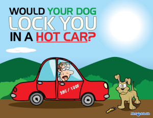 Would Your Dog Lock You in the Car?