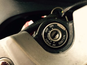 Suzuki Katana Motorcycle Ignition Switch